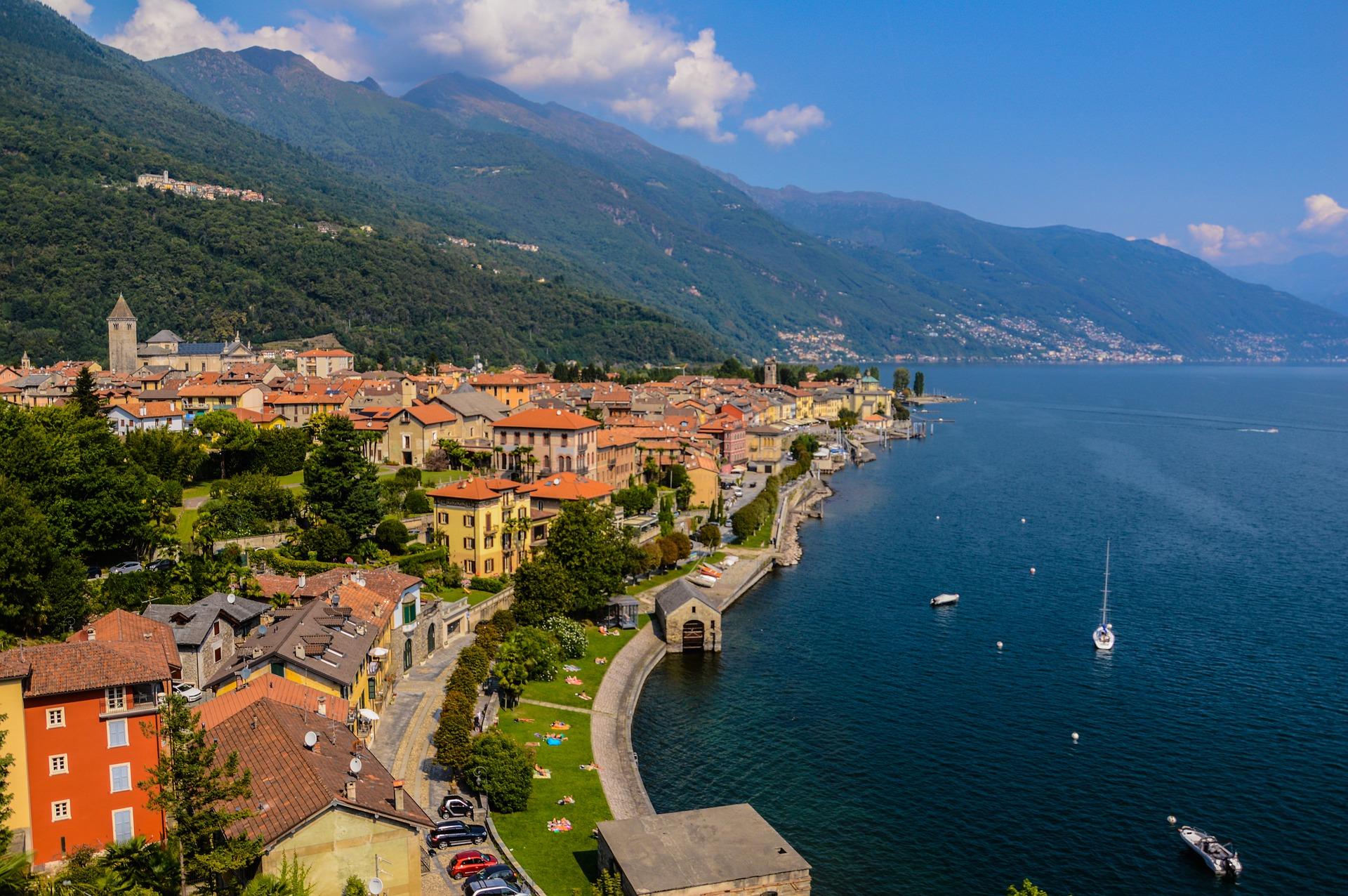 Lago Maggiore kustaanzicht