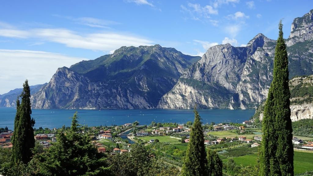 Gardameer bergen