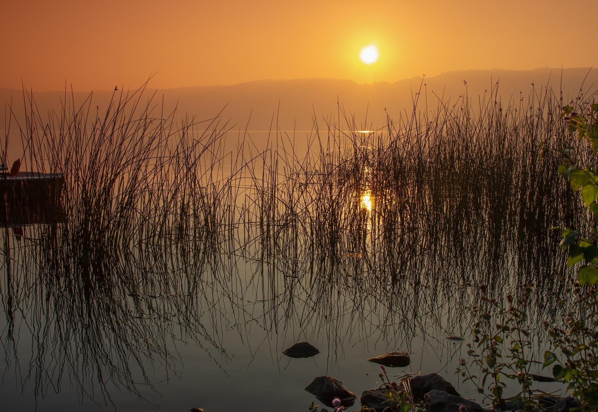 laacher see zonsopgang
