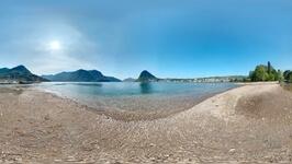 Voorgrond foto Luganomeer