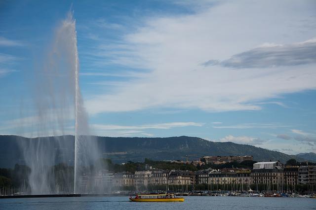 fontein lac leman