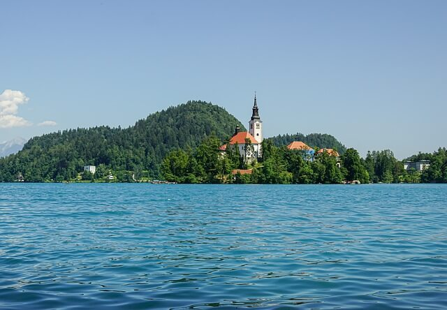 kerk meer van bled