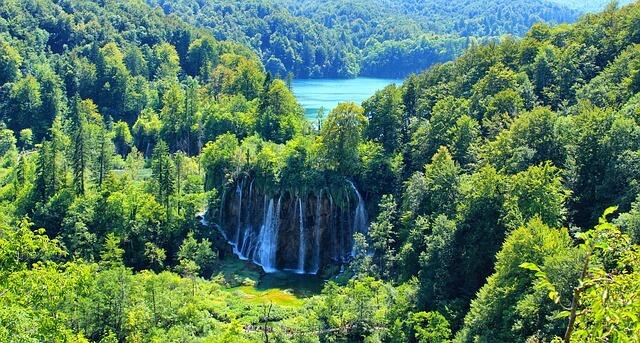 Plitvice meren bovenmeren
