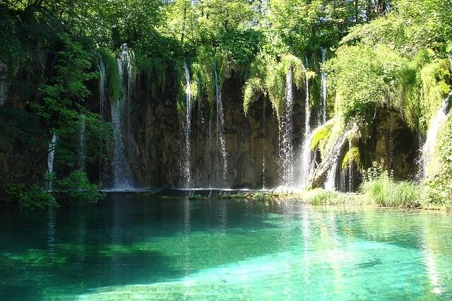 Plitvice mooie watervallen