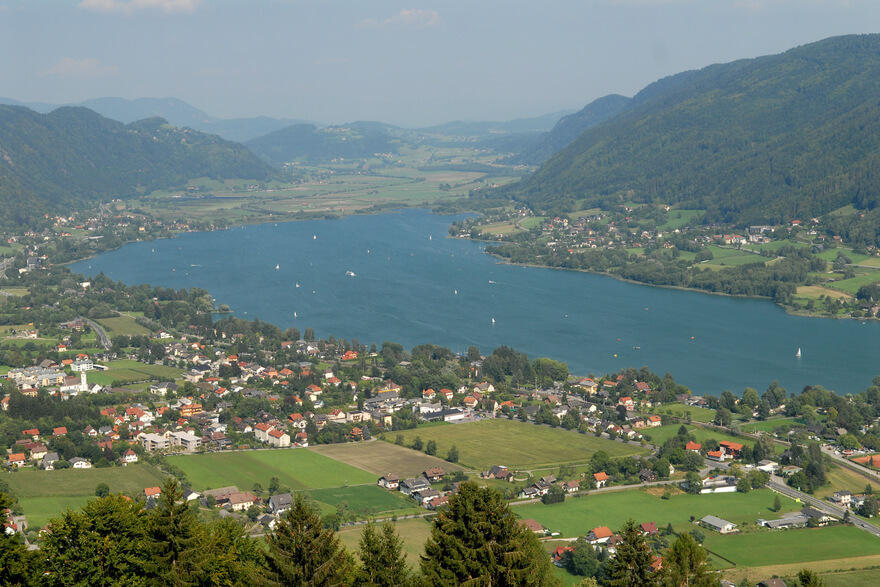 Panorama ossiacher see